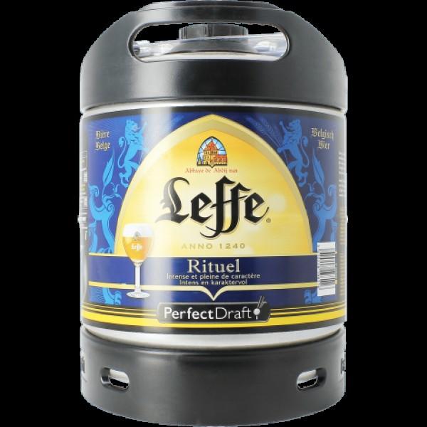 Barril de Cerveza Leffe 9 Rituel 6 litros