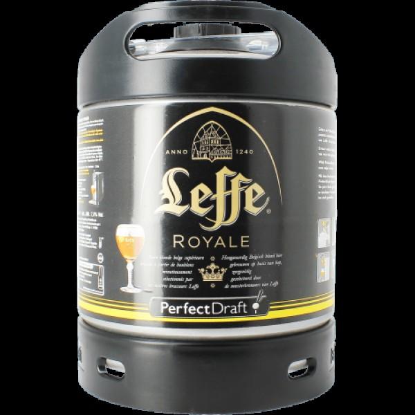 Barril de Cerveza Leffe Royale 6 litros