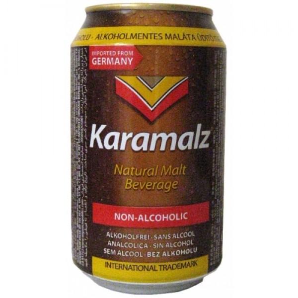 Cerveza Karamalz Sin Alcohol lata