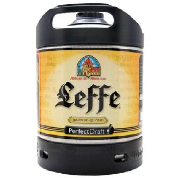 Barril de cerveza Leffe Blonde 6 litros