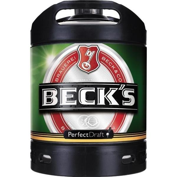 Barril de cerveza Beck´s Pils 6 litros