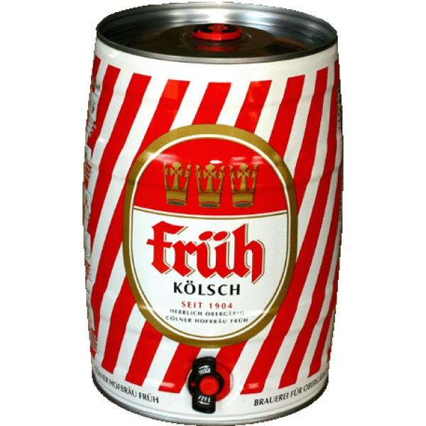 Barril de cerveza Früh Kölsch 5 litros
