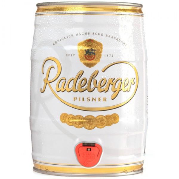 Barril de cerveza Radeberger Pils 5 litros