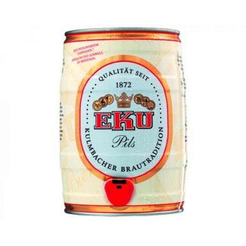 Barril de cerveza EKU Pils 5 litros