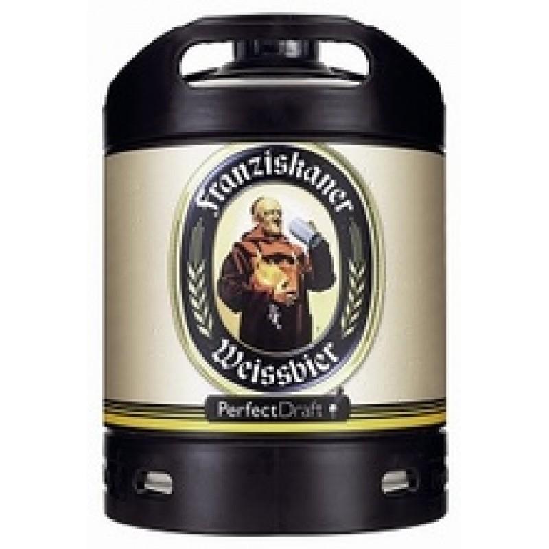 Barril de cerveza Franziskaner Weissbier 6 litros