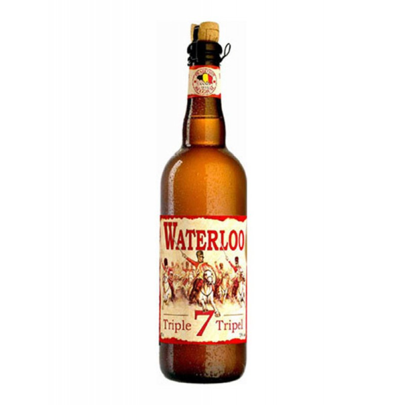 Cerveza Waterloo Triple 75 cl