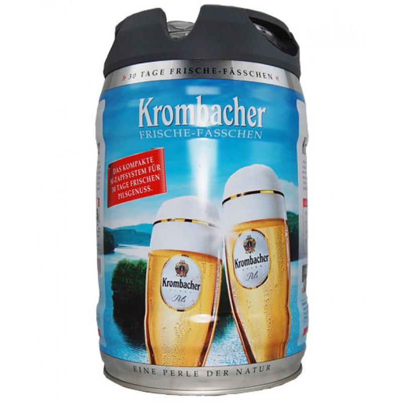 Barril de cerveza Krombacher Pils Easy Zapf 5 litros