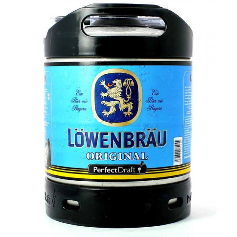Barril de cerveza Löwenbräu Original 6 litros
