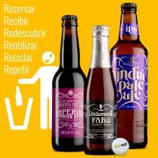 Cervezas para beber, mirar y no tirar